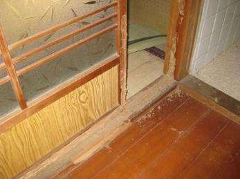 今回は施主様の、離れ部屋の白アリ駆除の施工事例 工事中のみです。 今、白アリがよく出る時期ですので、気を付けてください。 羽アリを見たら要注意です!