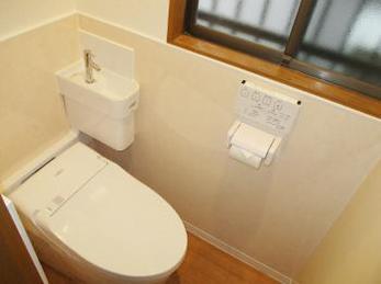 トイレのウォシュレットや便器が古くなり、床も壁も新しくしたいとお考えの方に向けた施工事例です。<br>この事例を見る事で、最短施工日数でどれくらいまで出来るのかがわかります。<br>■TOTO ウォシュレット ネオレスト ワンデイリモデルの施工事例です。