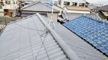 地震や台風が多い日本で、近年注目されてる新素材の軽量瓦「エアルーフ」をご存じですか?<br>既存の瓦屋根から高分子繊維強化セメント瓦エアルーフ(軽量瓦)への葺き替え工事事例です。